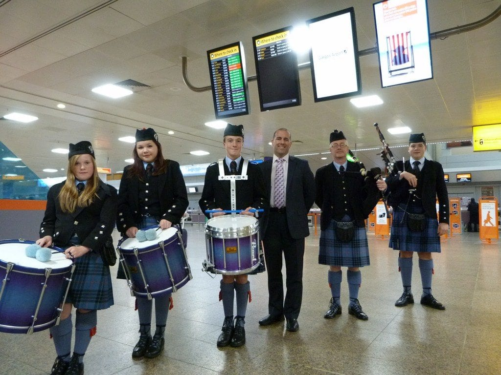 Johnstone Pipe Band