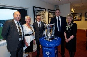 St Mirren civic reception top table