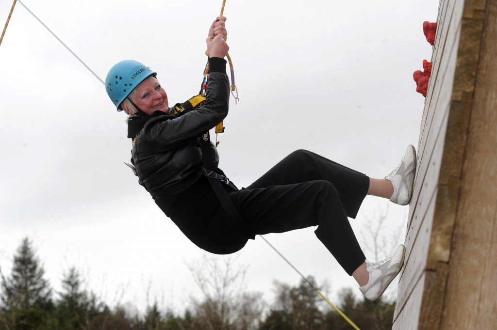 Abseil Lapwing Lodge 04
