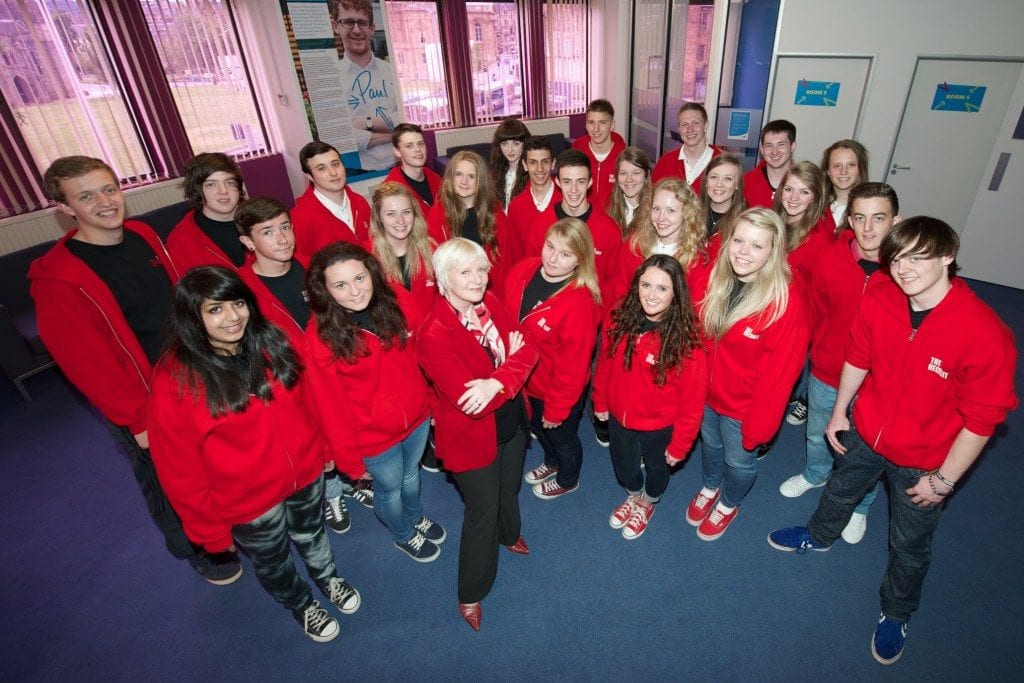 Recruits with Morag Malloy (front)