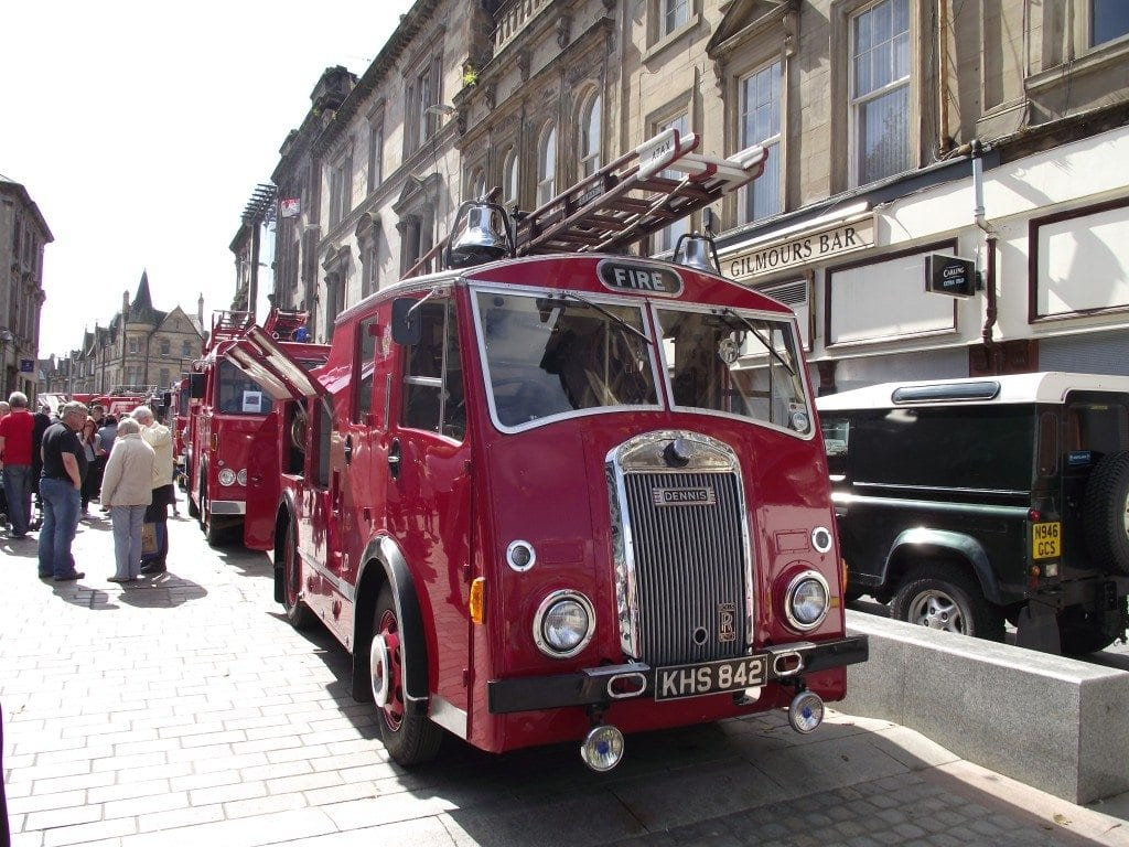 Fire engine rally 2012