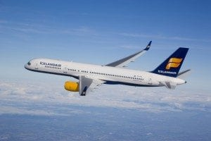 Icelandair aircraft