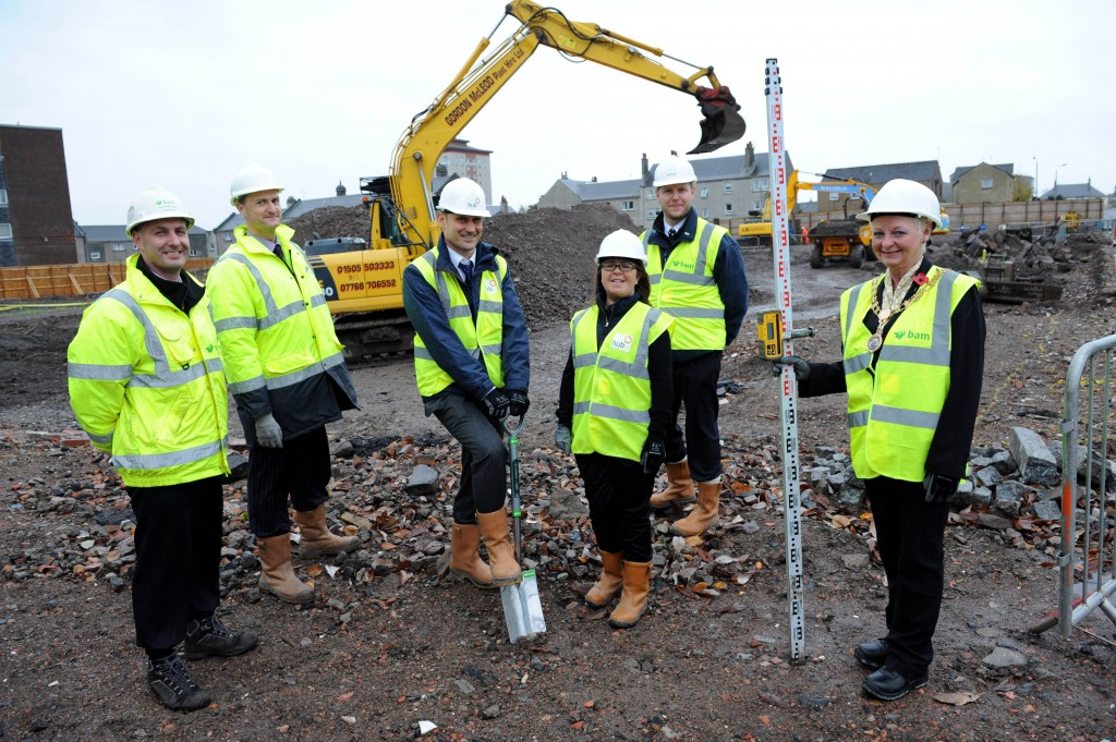 Johnstone Town Hall work starts