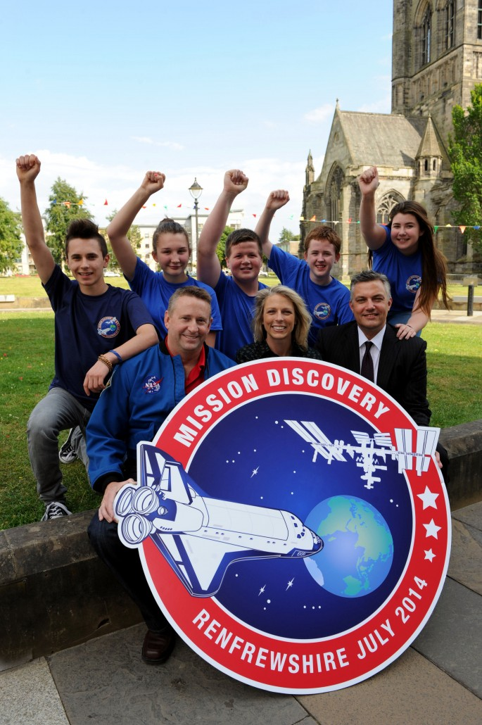 Mission Discovery winning team