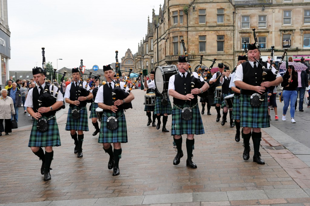 Paisley Pipe Band competition 2014