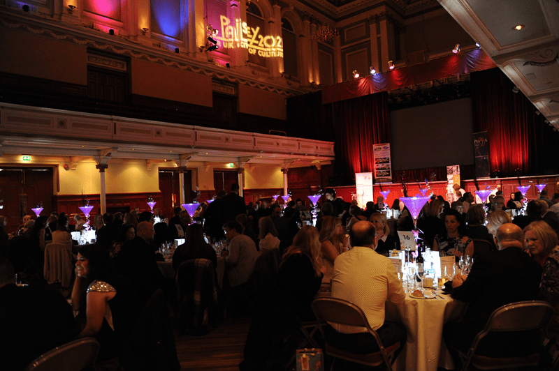 1-Packed Paisley Town Hall at Community Awards