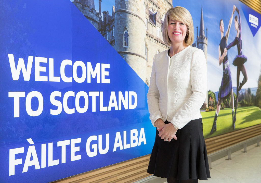 Amanda McMillan, Glasgow Airport May 2015