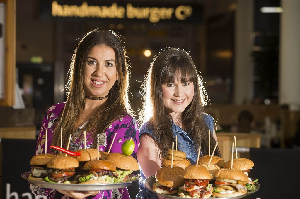 01/10/16... INTU BREAHEAD. Ready for student night at the mall where one lucky student will win year supply of burgers