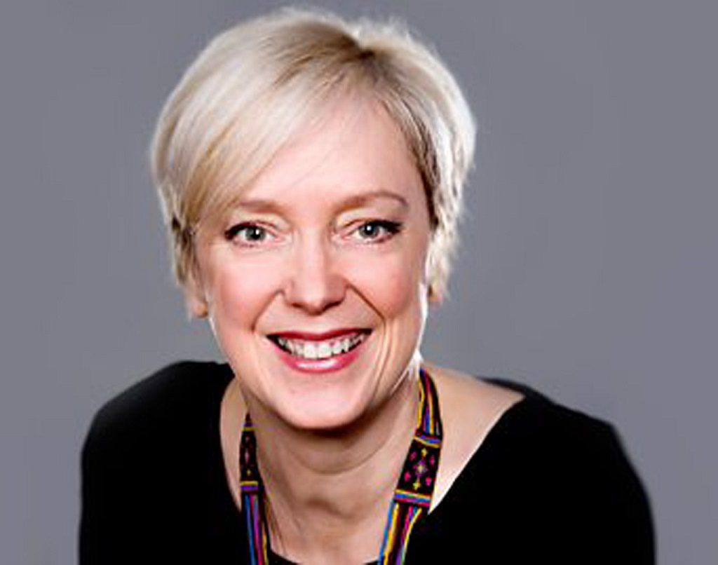 Janice Forsyth, who will present her live radio show from Johnstone Library
