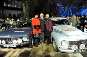Monte Carlo Classic Rally Rosemary Smith, Paddy Hopkirk, Provost Anne Hall