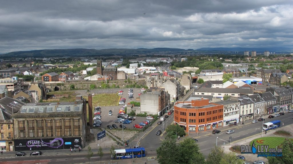 Arnotts from Paisley Abbey taken by Brian McGuire