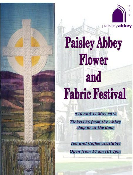 paisley abbey flower festival