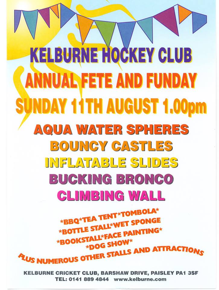 Hockey fete