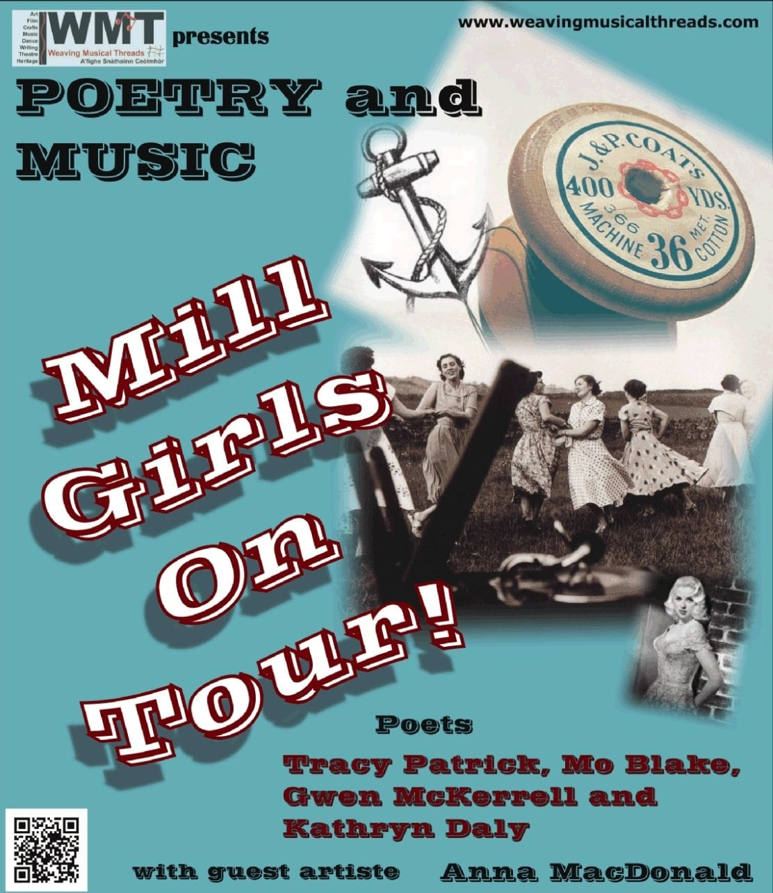 Mill Girls on tour