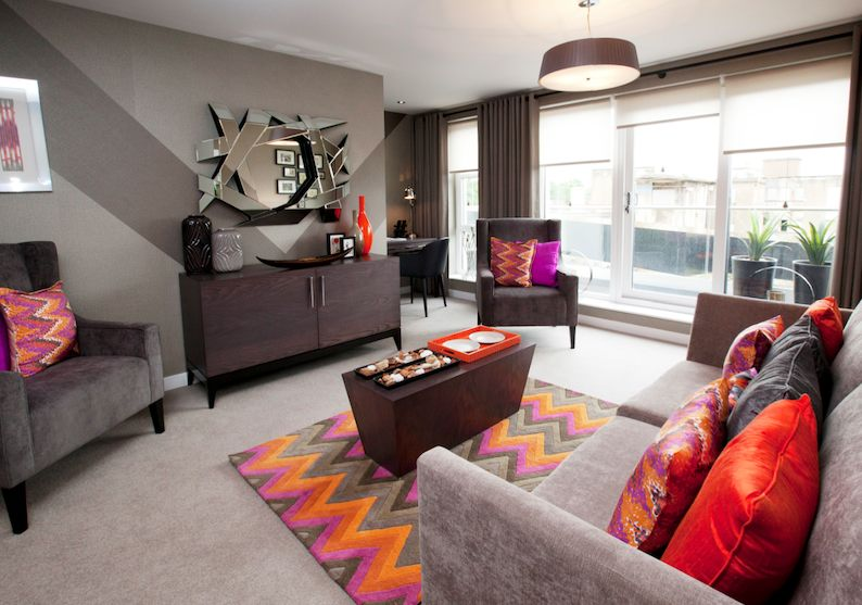 The Arrochar showhome at Hawkhead Village 2