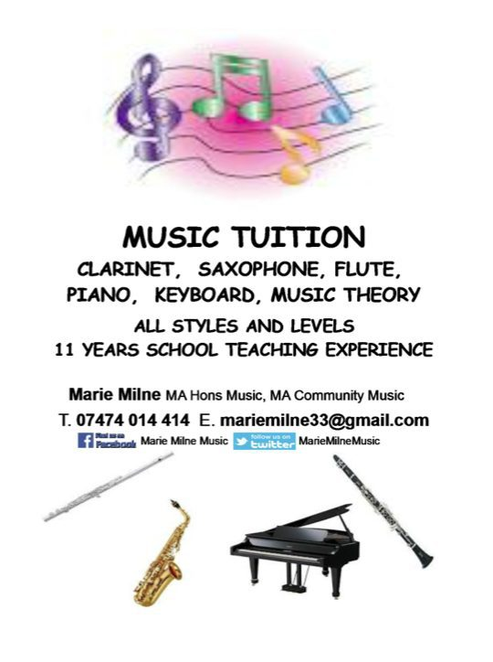 marie milne music tuition