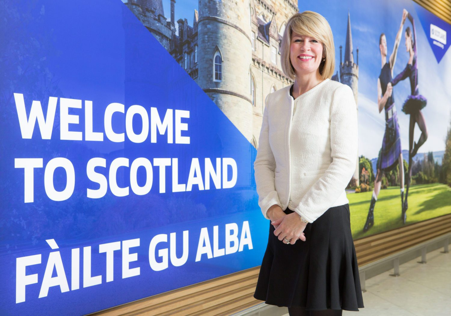 Amanda McMillan Managing Director Glasgow Airport