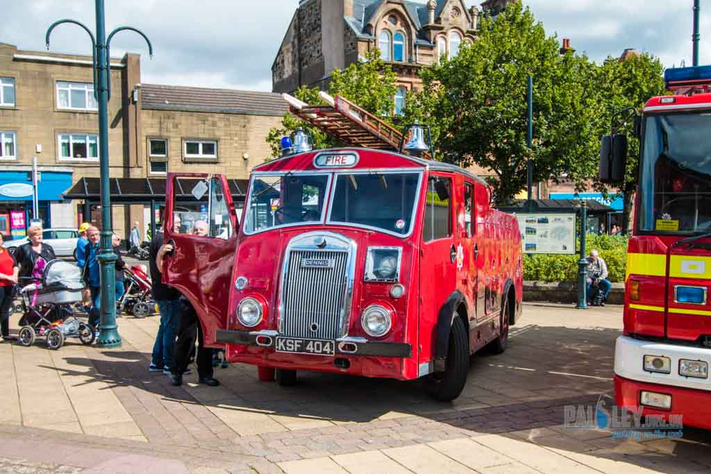 johnstone fire brigade rally