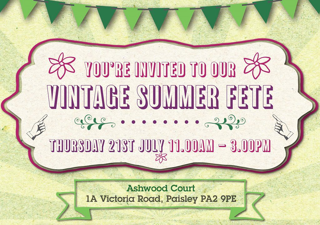 Ashwood Court Vintage Summer Fete poster image