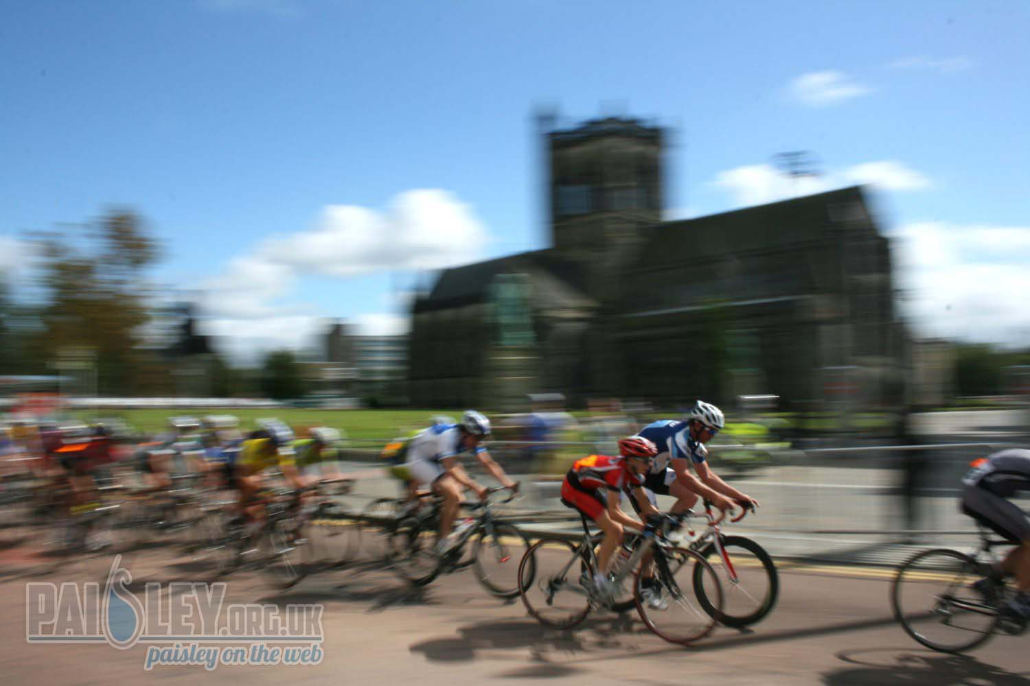 paisley abbey cycling