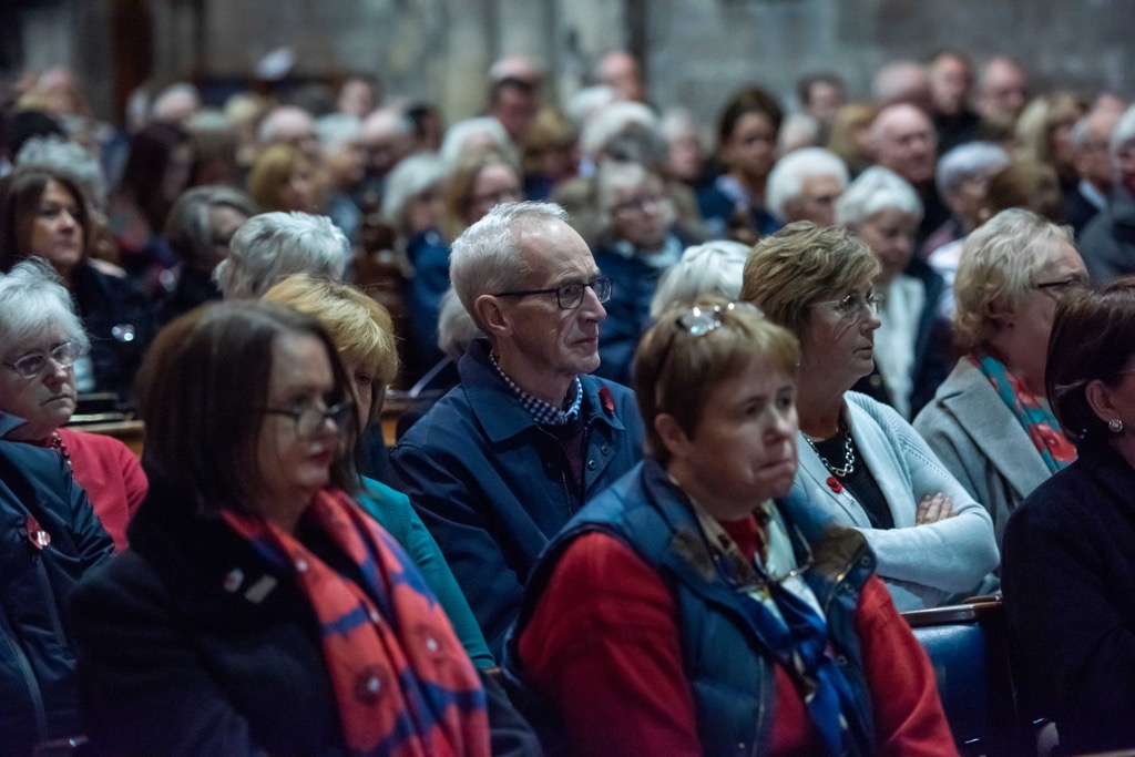 Communties came together from across Renfrewshire to pay their respects to the fallen