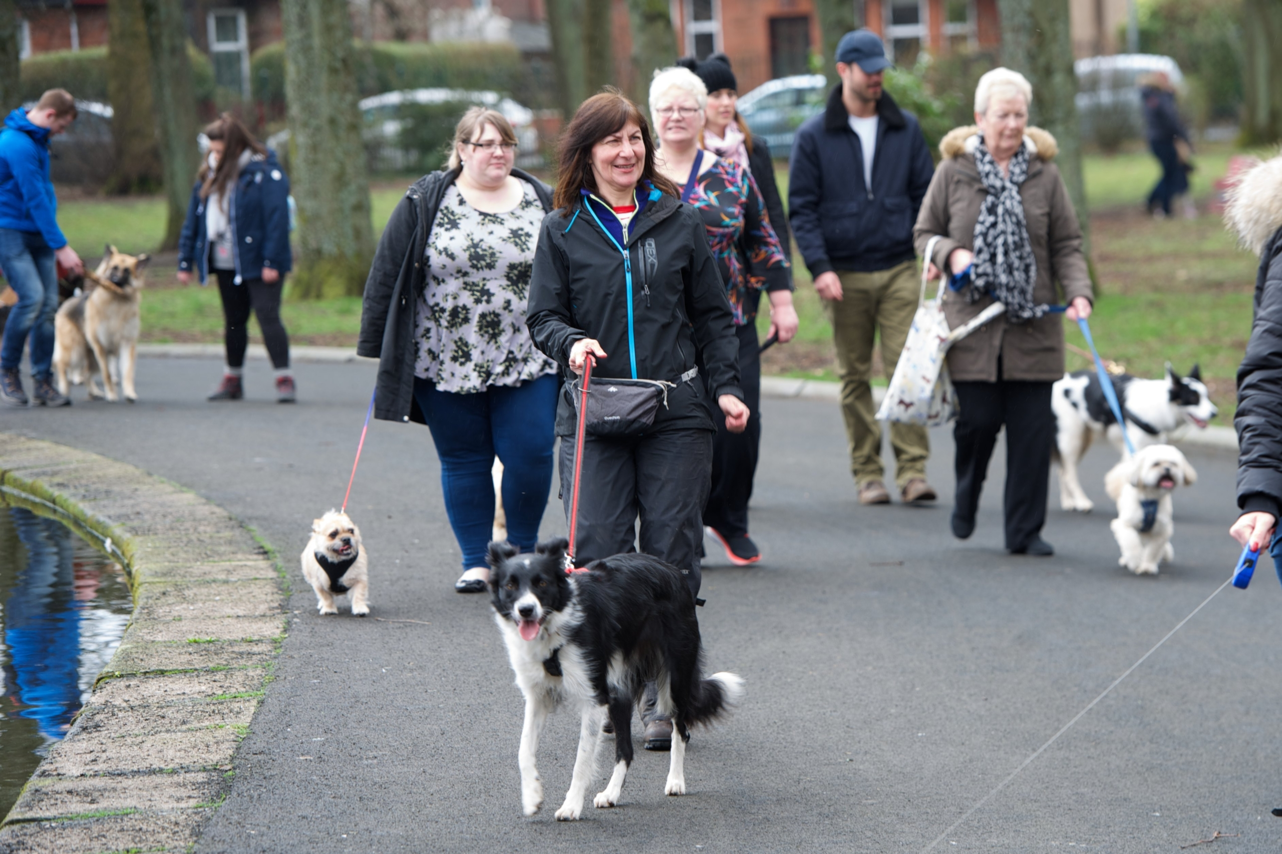 Renfrew Council Responsible Dog Owners Event at Robertson Park 8.4.18