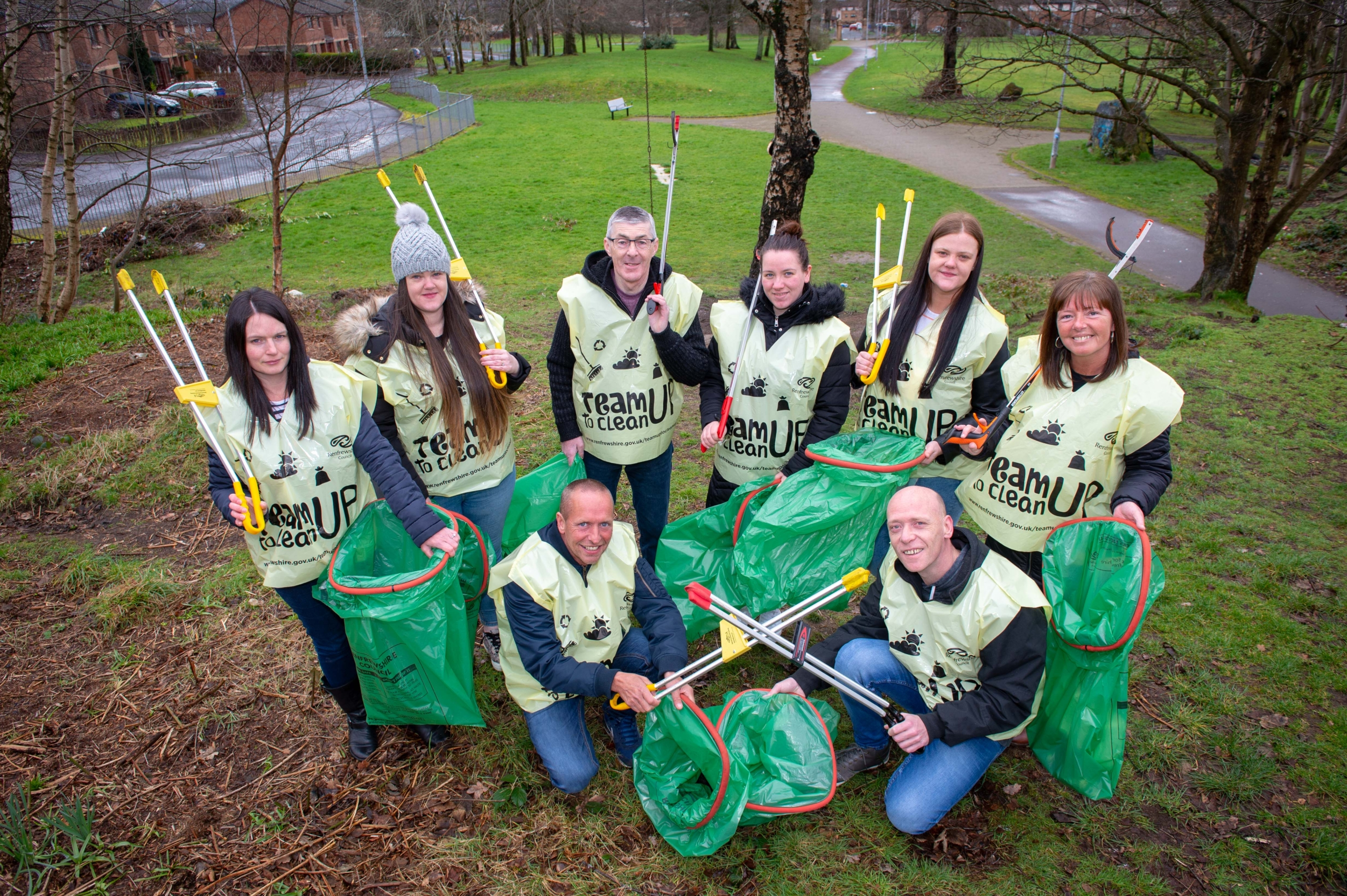 spring clean up launch