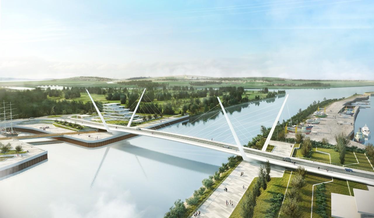 Clyde Waterfront Renfrew Riverside - Clyde bridge-1