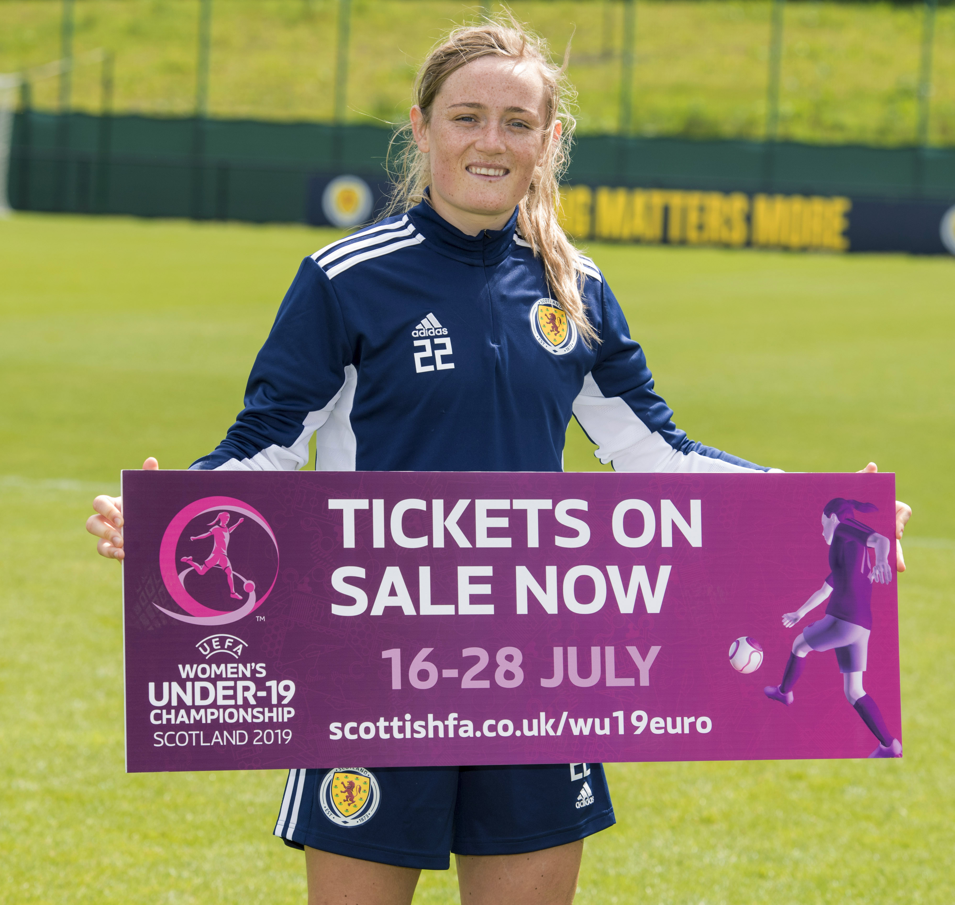 Women's World Cup star Erin Cuthbert has given her backing to the tournament having previously graduated from Scotland's U19 set-up