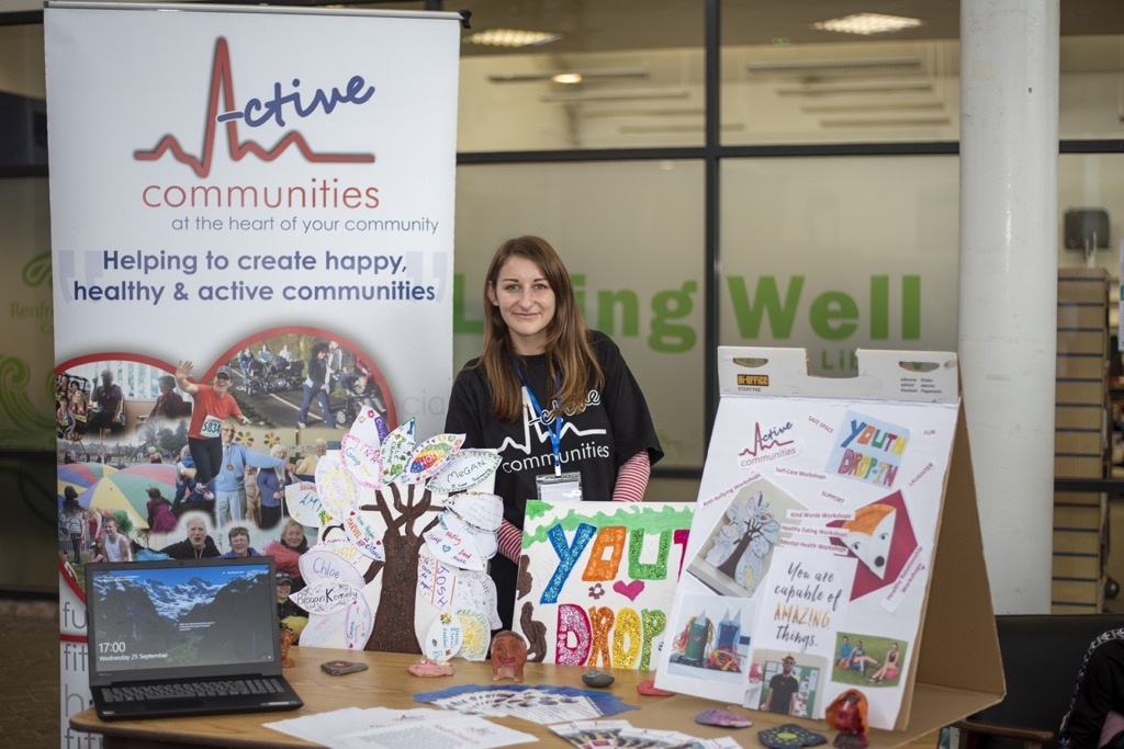 Active Communities stall