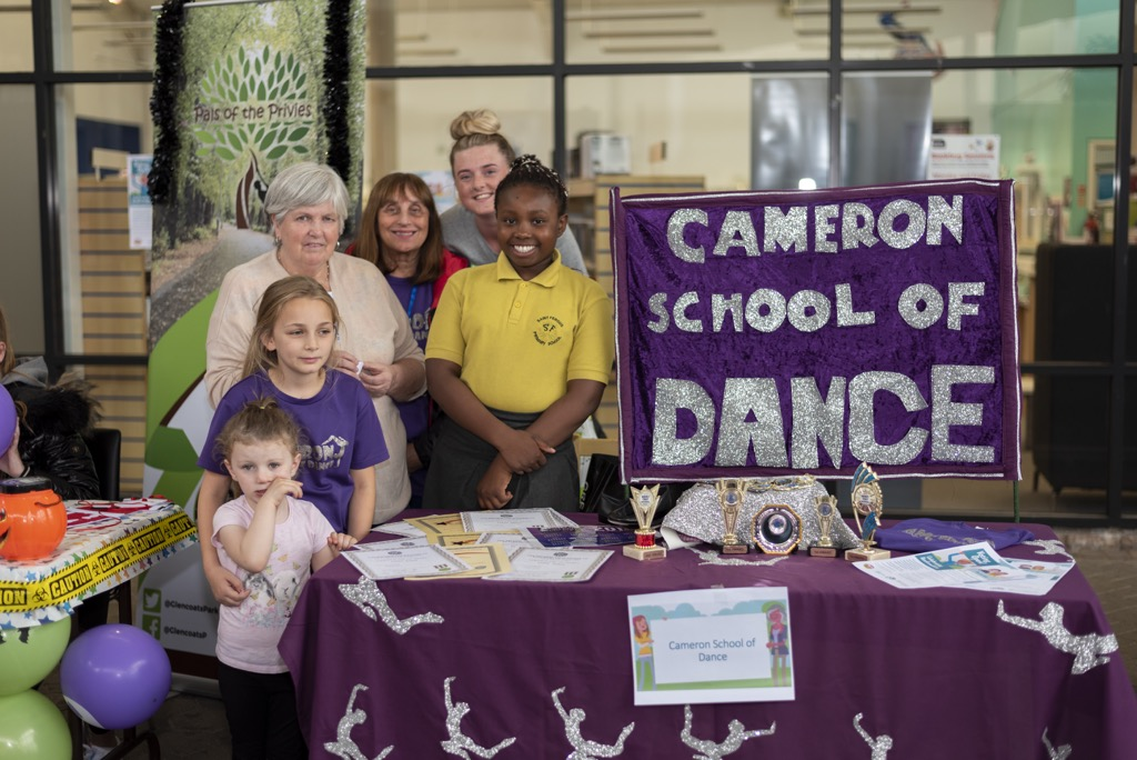Cameron School of Dance stall