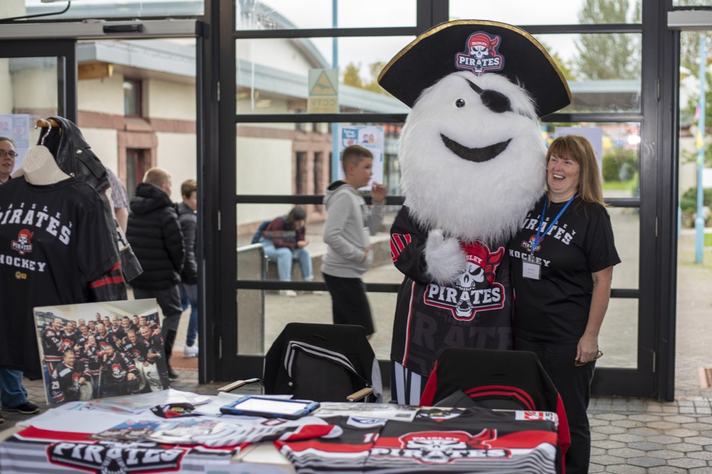 Paisley Pirates stall