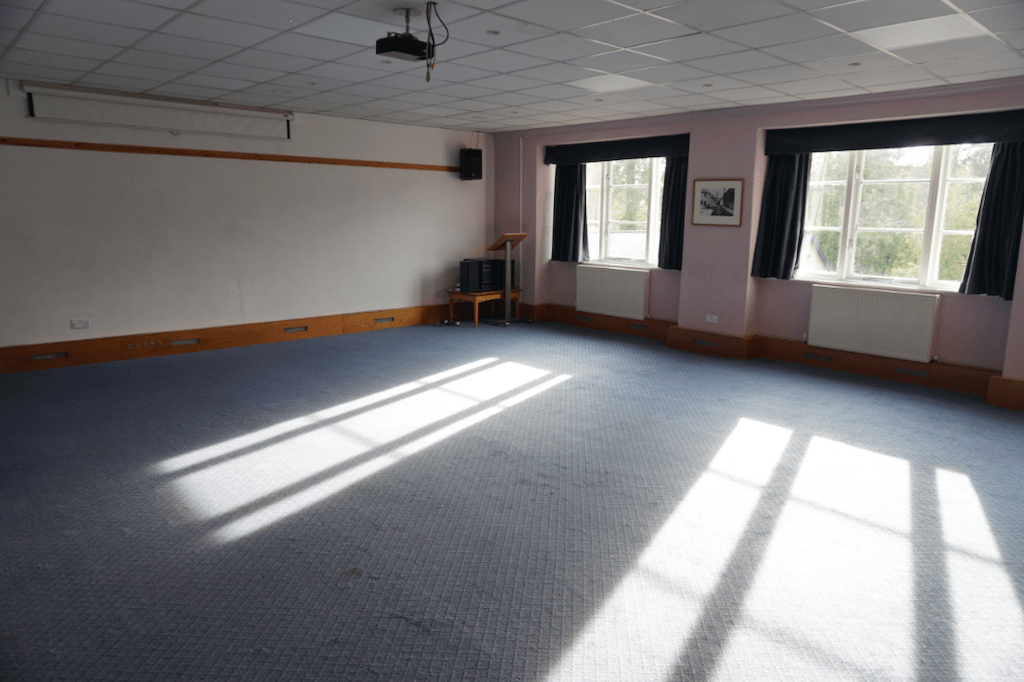 Hall at the Old Village Library (2)