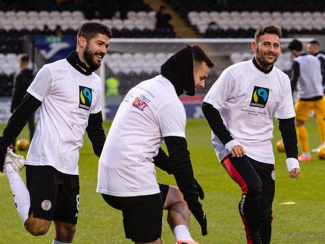 St Mirren players (3)