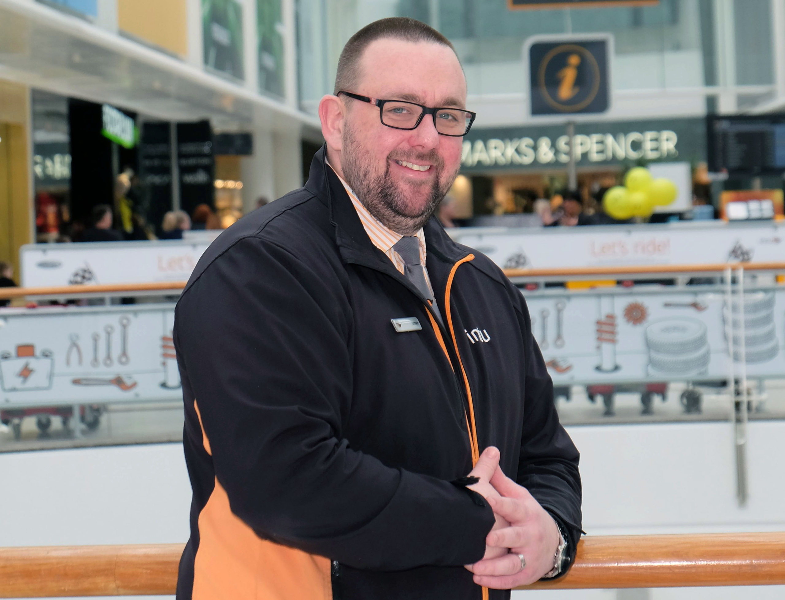 "A security staff manager at intu Braehead is in the running for a top national award. Stephen Stronach, 36, from Linwood, Renfrewshire is one of three students who have been shortlisted for the Chartered Management Institute Student of the Year Award. He has recently passed his Level 8 Award in Management and Leadership as a mature student after intu Braehead paid for a lecturer from West College Scotland to visit the centre to give lectures to a dozen security staff. Stephen, a security duty manager, who has worked at intu Braehead for 14 years explains: ""I've never had any further education qualifications before and it's been great learning the theory behind the things we do on a day-to-day basis. ""I really appreciate the opportunity the company has given me and I'm sure having this qualification will help me develop my career."" Peter Beagley, intu Braehead centre director said: ""Stephen has studied hard to get this management and leadership qualification and his dedication has been recognised by the fact he has been shortlisted for this CMI Student of the Year Award. It's a fantastic achievement."" The Chartered Management Institute is the UK's only chartered professional body dedicated to promoting the highest standards in management and leadership excellence. The outright winner of the Student of the Year Award is due to be announced next week."