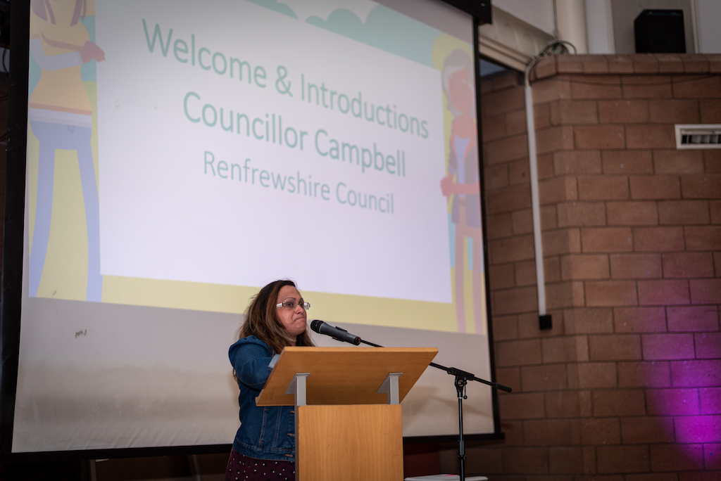 Cllr Michelle Campbell, Young Persons Champion