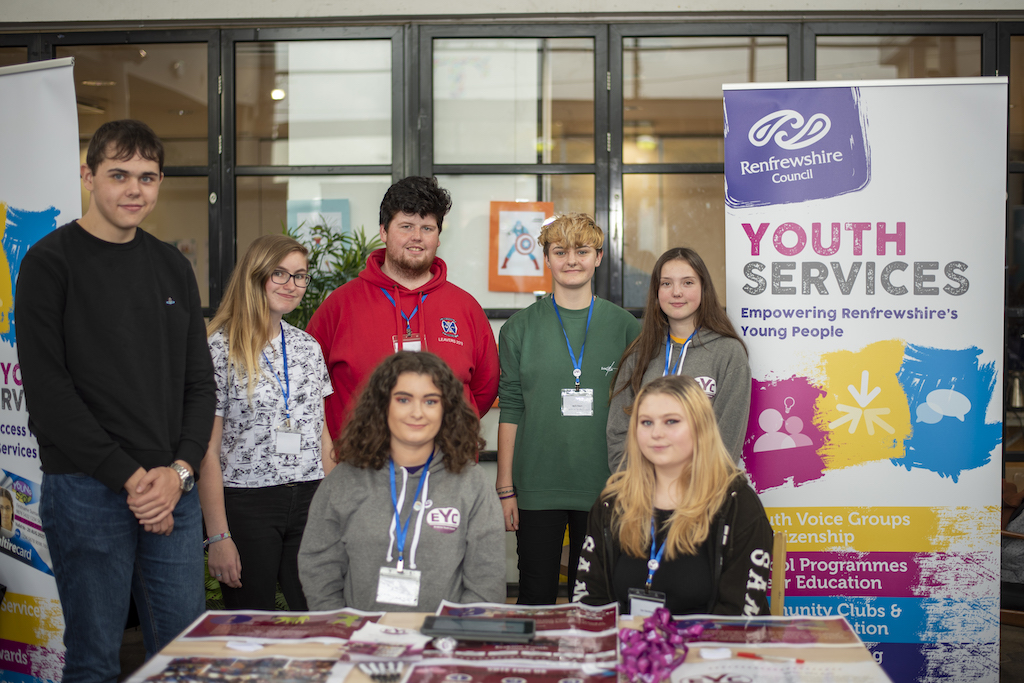 Youth Services stall