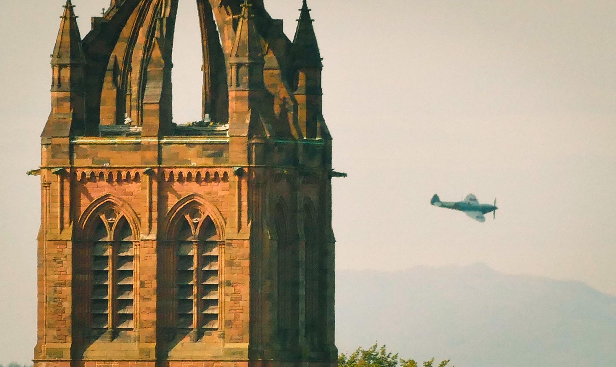 Coats Memorial Spitfire for NHS Scotland