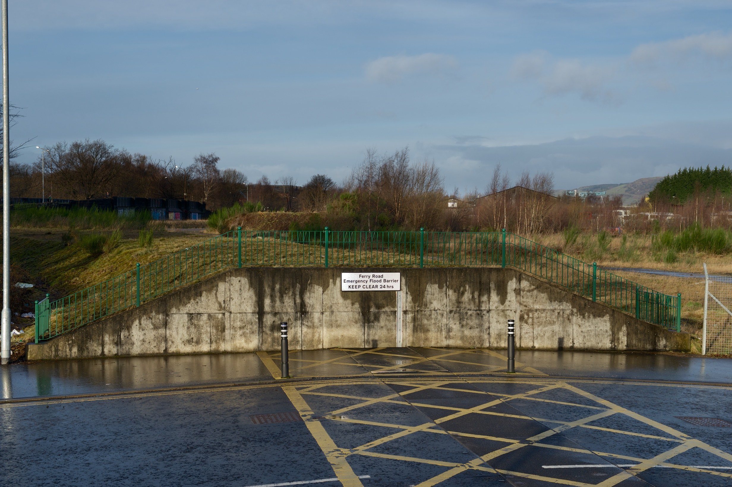 Renfrew Flood Defences