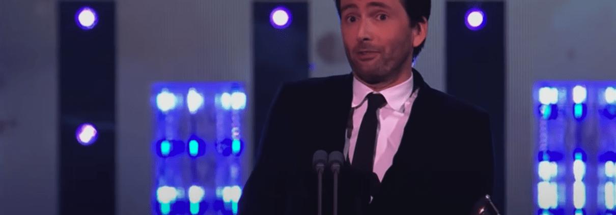 David Tennant National Television Awards 2021