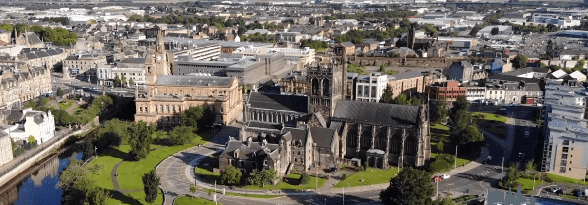 paisley from drone