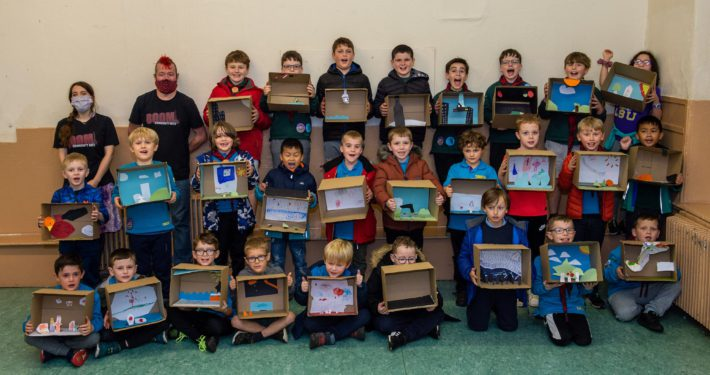 21st Paisley St Mirin's Scout Group Cubs and Beavers - Halloween workshop 3